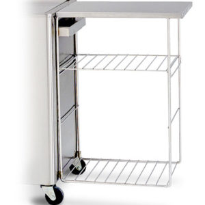 Hydrocollator Accessory Side Table Rack