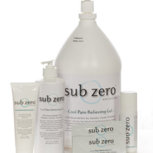Sub Zero Pain Relief - Various Sizes