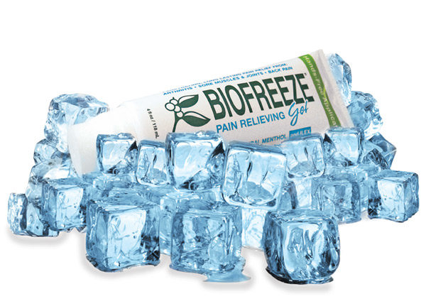 4oz BioFreeze Gel with Hands-Free Applicator